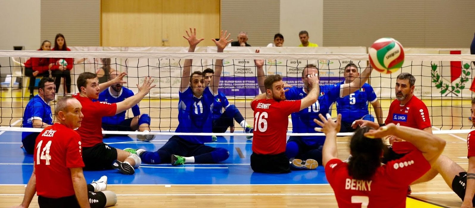 World paravolley men's qualifier is going to be in Duisburg