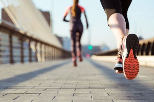 Morning running - priceless