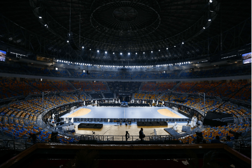 One of the arenas for the 27th Men's Handball World Championship 2021, Egypt
