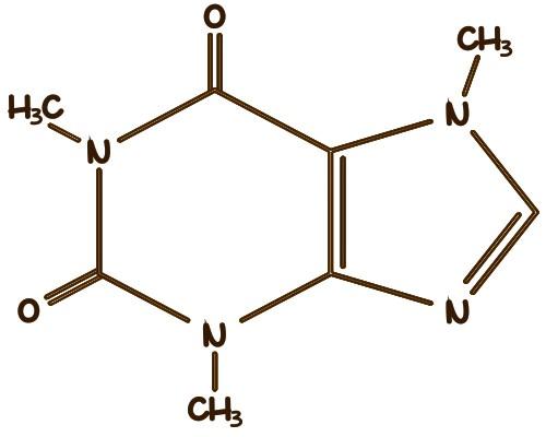 Химическая формула кофеина