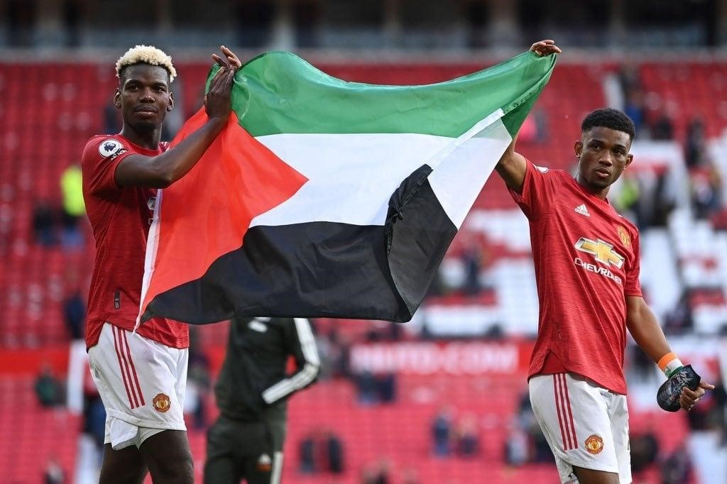 Paul Pogba and the Ivorian Amad Diallo