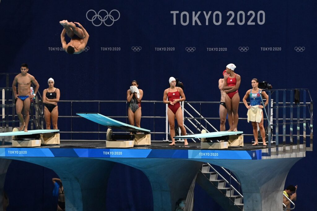Tokyo Olympic Diving